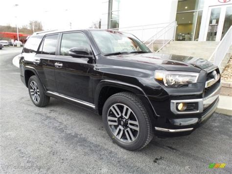 toyota 4runner 2017 black 2017 midnight black metallic toyota 4runner limited 4x4