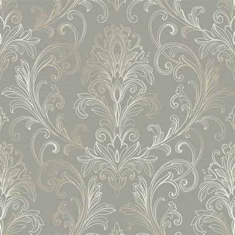 ballard designs wallpaper linear damask wallpaper dove gray pearl roll