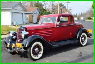 restored original 1934 dodge brothers business coupe