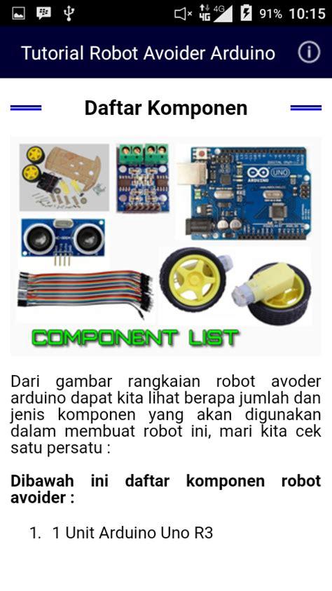 tutorial arduino pemula aplikasi android tutorial robot avoider arduino mudah dan