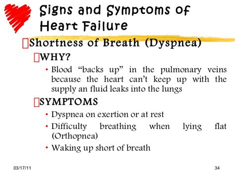 breathing pattern in heart failure heart failure