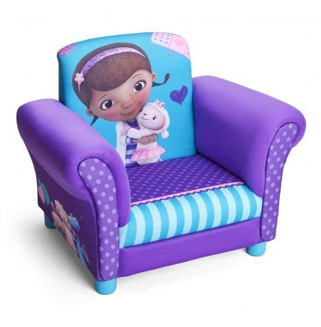childrens upholstered chair new delta children disney doc mcstuffins upholstered chair