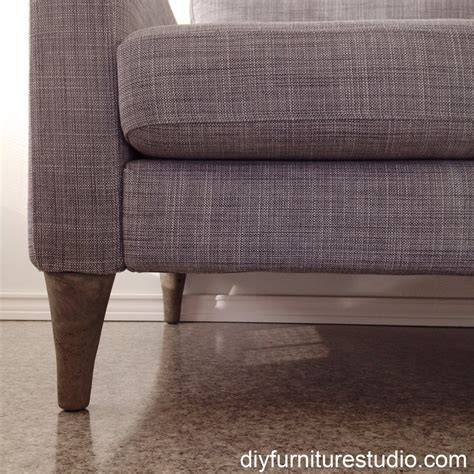 settee legs diy cement replacement sofa legs for ikea and other brands