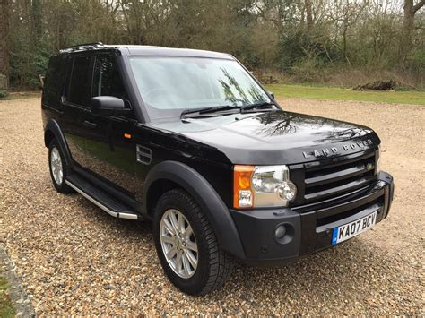 how does cars work 2007 land rover discovery security system used 2007 land rover discovery 3 tdv6 se for sale in surrey pistonheads