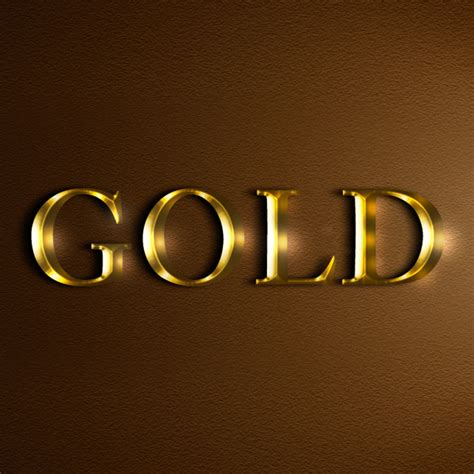 home design gold tutorial create an easy realistic gold text effect in photoshop