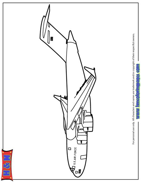 Air Force Free Coloring Pages Af Coloring Pages