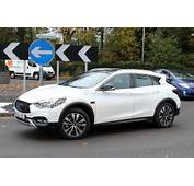 2017 Infiniti QX30 Crossover Spied With Virtually No Camouflage Ahead
