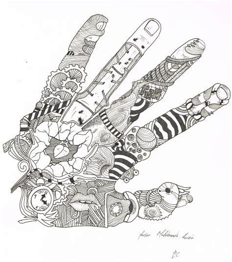 imagenes surrealistas faciles de dibujar mano surrealista por treize dibujando
