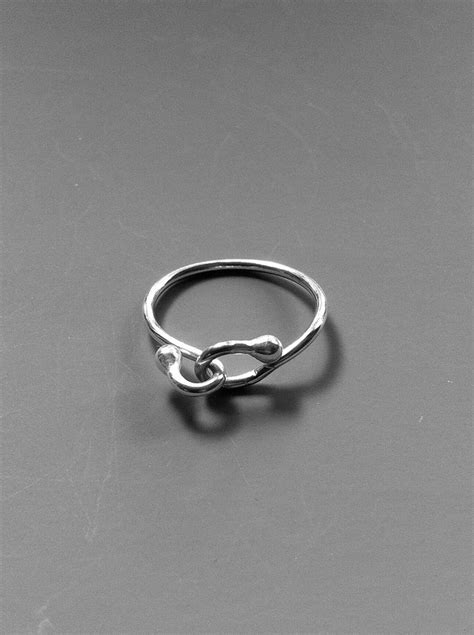 handmade sterling silver wire ring
