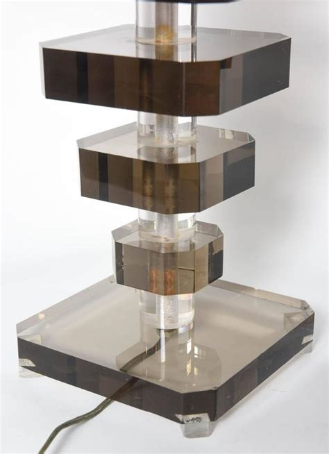 Stacked Table L by Pair Of Midcentury Stacked Quot Graduated Quot Lucite Table Ls