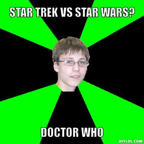 Star Trek Meme Generator - meme generator nerd girl image memes at relatably com