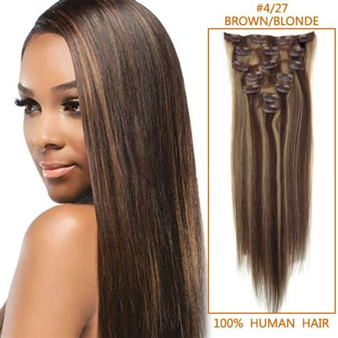 human hair extensions clip in 16 inch exquisite clip in human hair extensions
