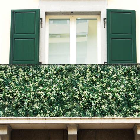 copri ringhiera balcone siepe finta pino 1mq sempreverde artificiale rete giardino