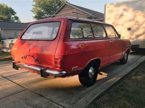 opel kadett wagon kleinen roten wagen 1969 opel kadett l wagon