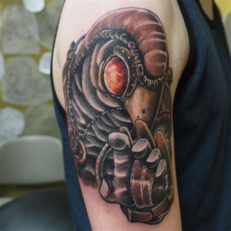 bioshock tattoos 15 of the coolest steunk tattoos we need