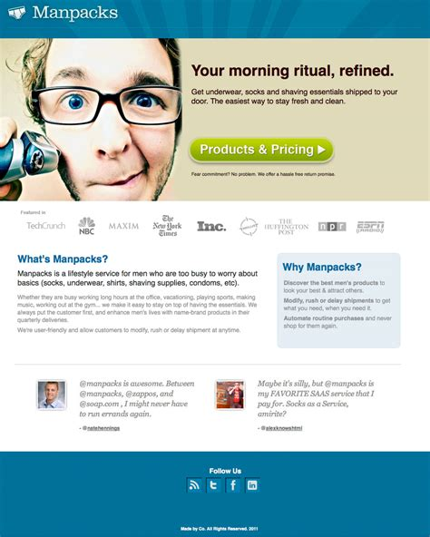 home page design sles 36 creative landing page design exles a showcase and