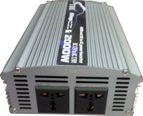 Harga Power Inverter Dc To Ac 2000 Watt jual 2 in 1 inverter charger merk tbe 2000 watt