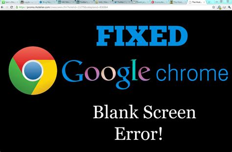 chrome youtube video black screen how to fix google chrome blank page or black screen