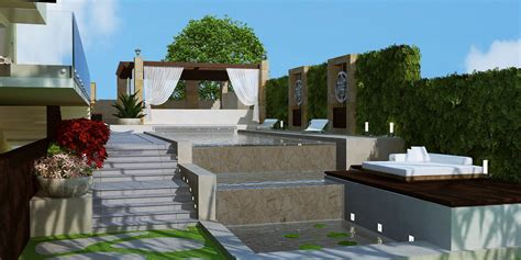 high definition modern landscape design lebanon by hd interior