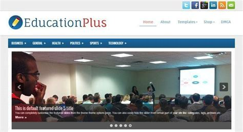 education themes in wordpress free free education wordpress themes for lms educational