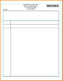 blank sheet template for word 5 blank invoice template word cfo resumed