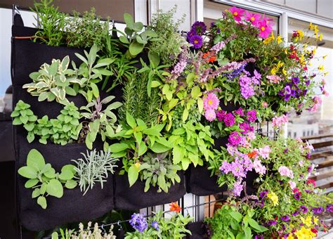 How To Make Vertical Garden Planters Florafelt Vertical Garden Planters Make Living Walls Easy