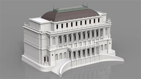 simple building 3d model max cgtrader