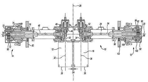patent us7314105 electric drive axle assembly with