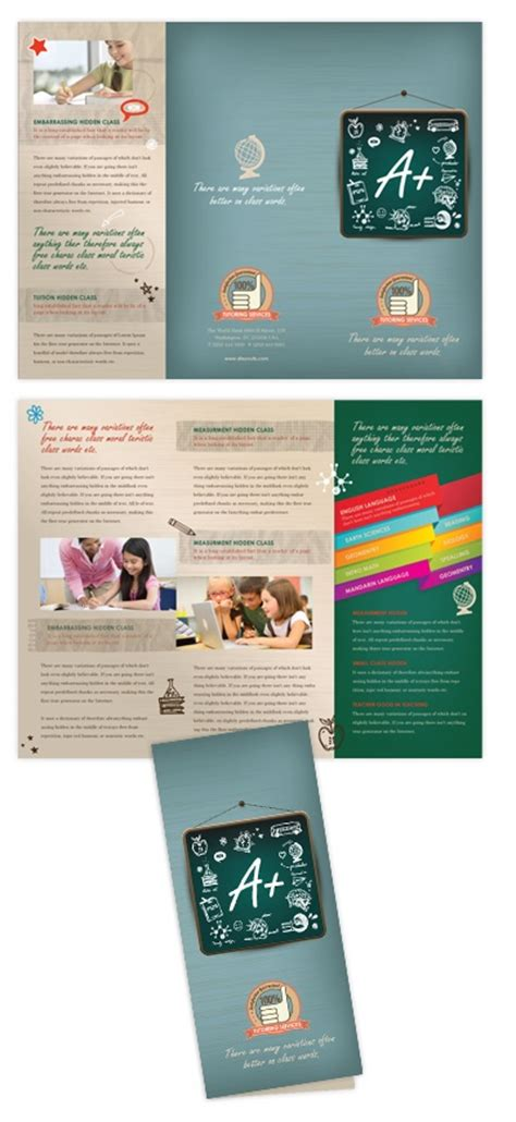 brochure templates for photoshop cs5 1000 images about tutoring on pinterest artworks