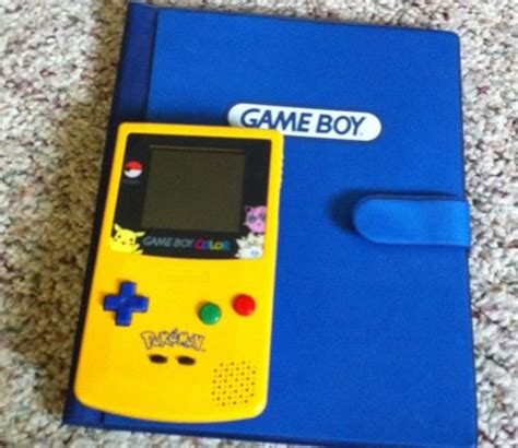 yellow gameboy color retro treasures ebay rage nintendo boy