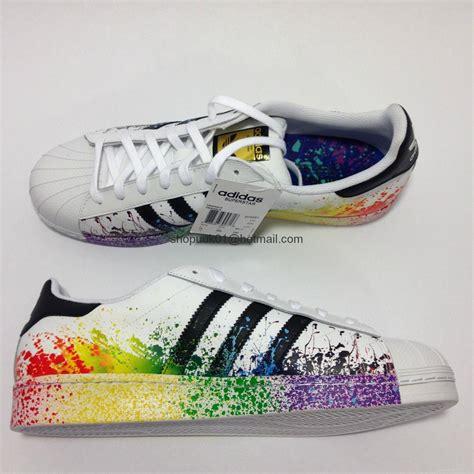 adidas rainbow shoes