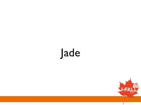jade template engine shootout template engines on the jvm