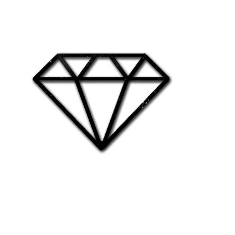 diamond tattoo png png brush diamond by bitcheslovesunicorns on deviantart
