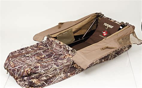 rogers xl layout blind waterfowl blinds wildfowl magazine