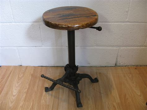 bar stools iron vintage cast iron bar stool ebay