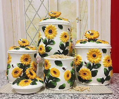 sunflower kitchen canisters 28 best images about sunflower kitchen decor on ceramic coasters braided rug