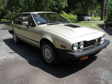 1986 Alfa Romeo Gtv6 by 1986 Alfa Romeo Gtv6 Revisit Classic Italian Cars For Sale