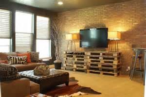 Le Meuble Tv Style Industriel En 50 Images Archzine Fr Traditional Lamps Living Room