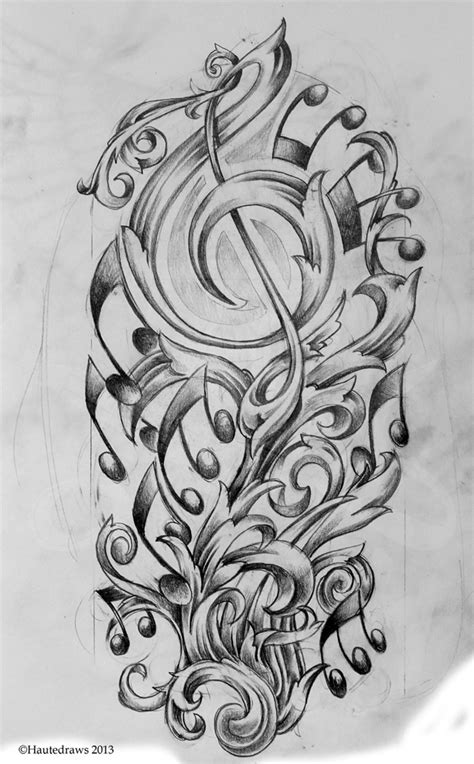 musical filigree hautedraws