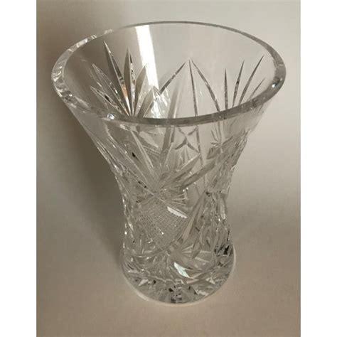 waterford crystal vase chairish