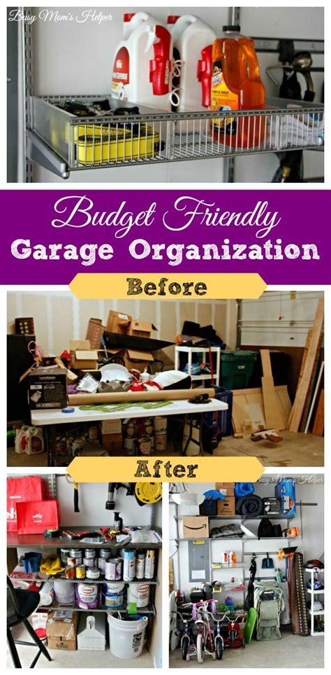 how to organize garage on a budget 1000 images about garage organization on