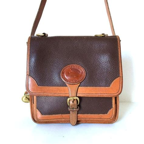 Dooney Bourke Dooney And Bourke by Vintage Dooney Bourke Square Surrey Carrier All By