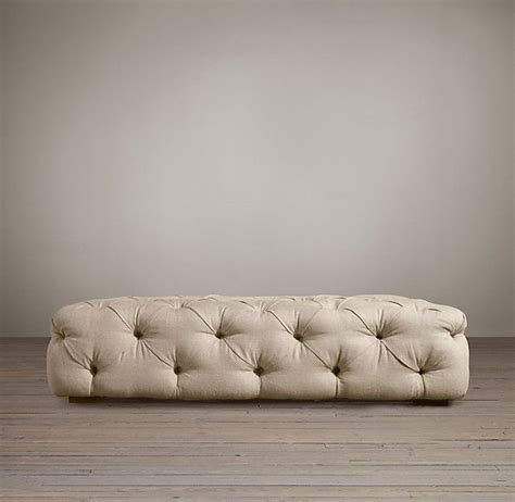 upholstered tufted ottoman 43 best ottoman images on pinterest ottomans poufs and