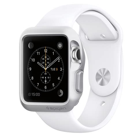 Iwatch Spigen Apple 38mm Silver Spigen Apple Slim Armor Argent 38 Mm Montre