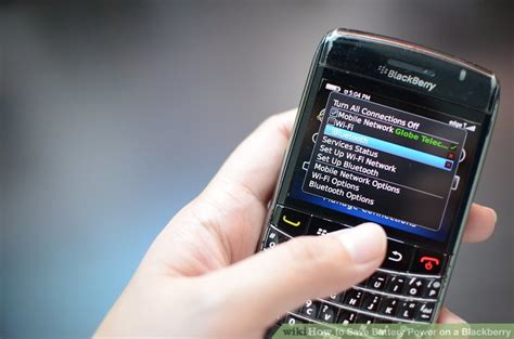 Baterai Power Blackberry how to save battery power on a blackberry 13 steps