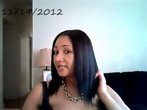 how long is the 10inch weave for black hair update on outre sol yaki 10 quot quick weave youtube