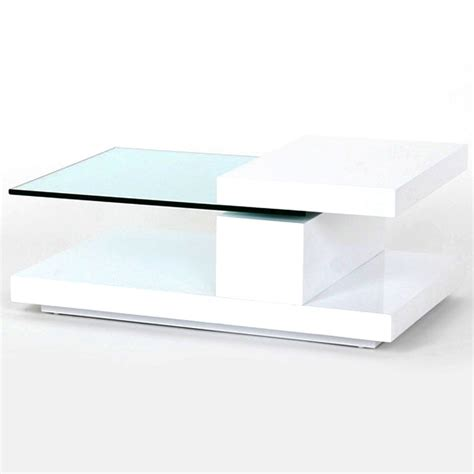 white coffee table coffee tables ideas modern white and glass coffee table