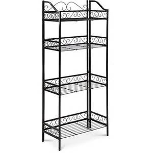 Bakers Rack Plant Stand Metal Plant Stand Shelf 4 Tier Garden Home Patio Bakers