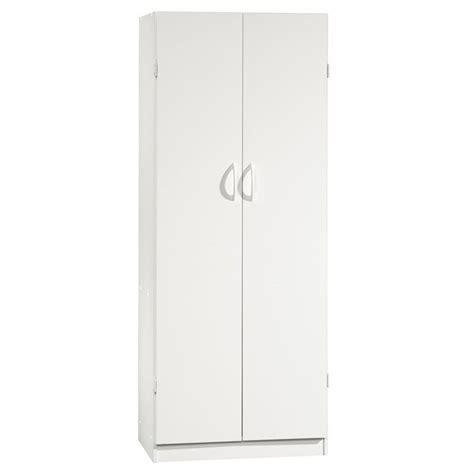 sauder white storage cabinet sauder beginnings storage cabinet in soft white 407468