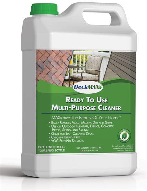 Multi Purpose deck cleaning product rtu multi purpose cleaner half